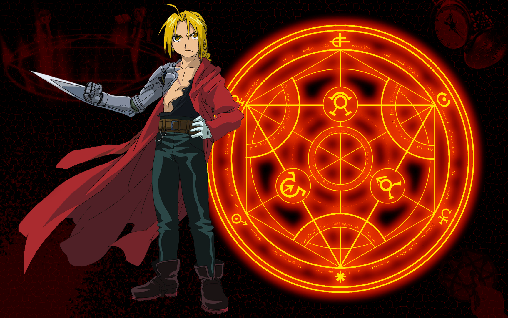 Fullmetal Alchemist Wallpaper Edward by Polarnacht 1728x1080