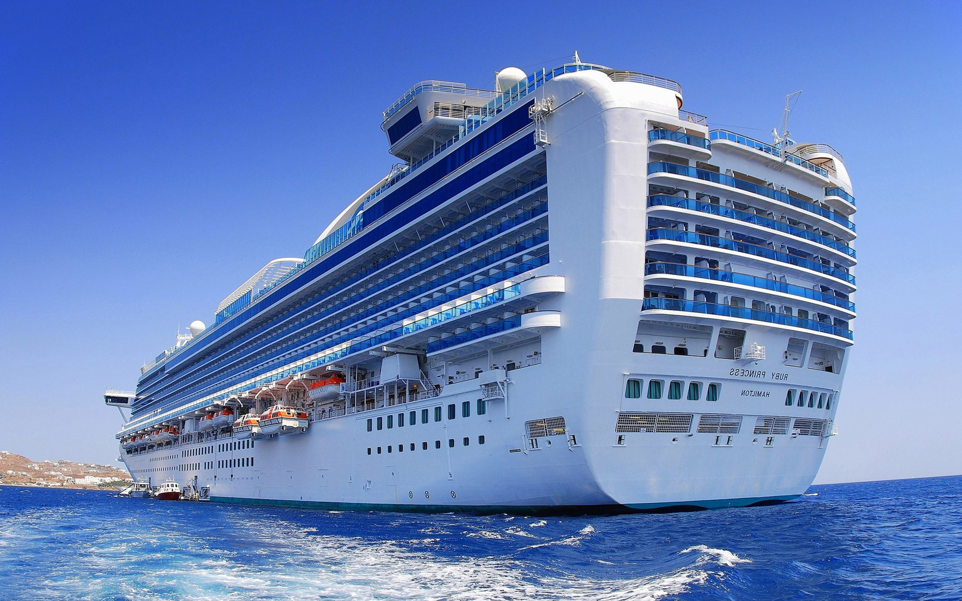 Cruise Ship HD Wallpapers 1920x1200