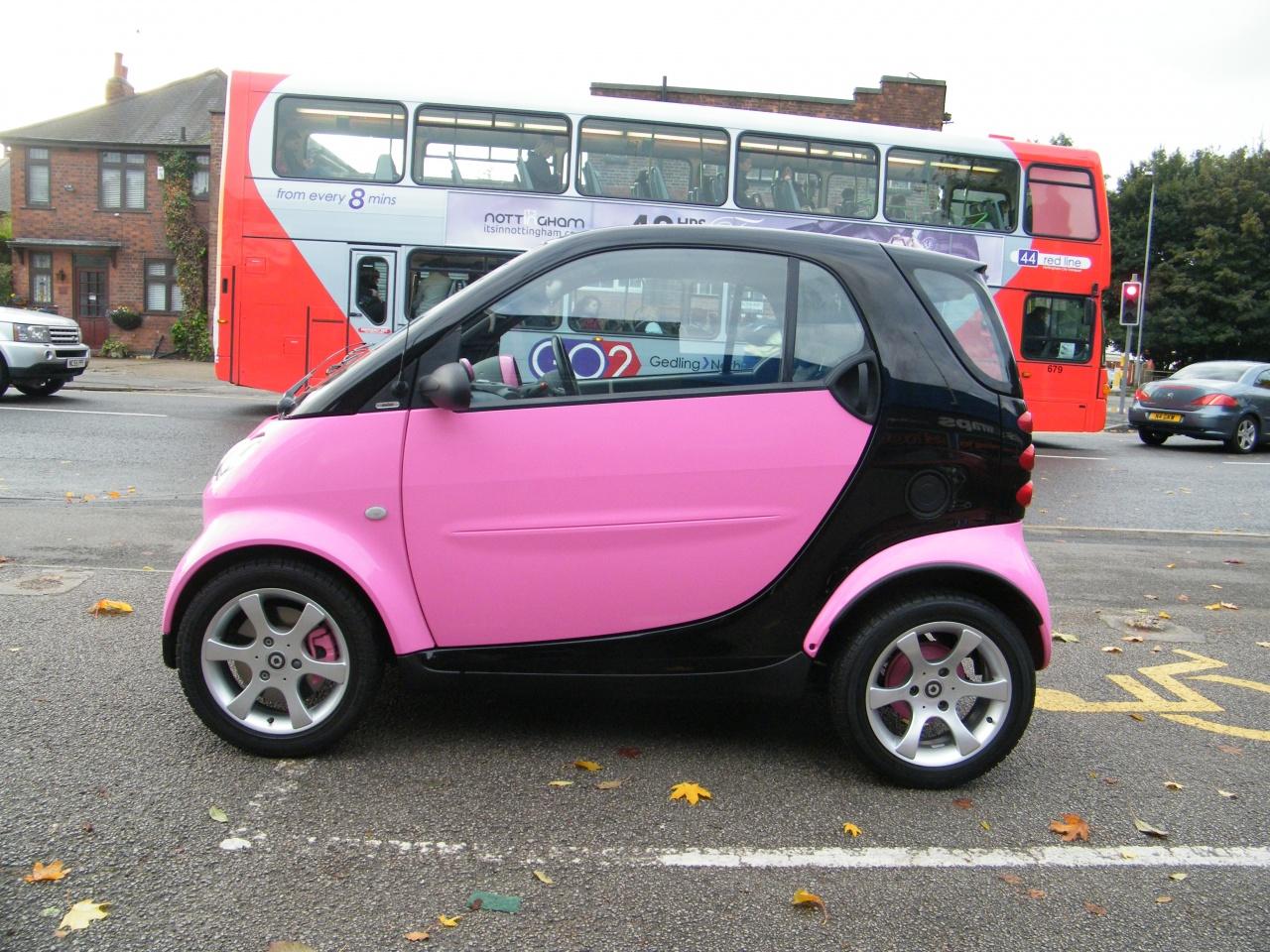 Car wrap 3 pink smart car wrap 4 pink smart car wrap 5
