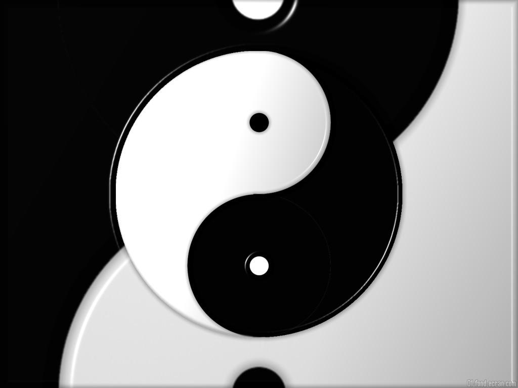 Element Ying Yang wallpaper