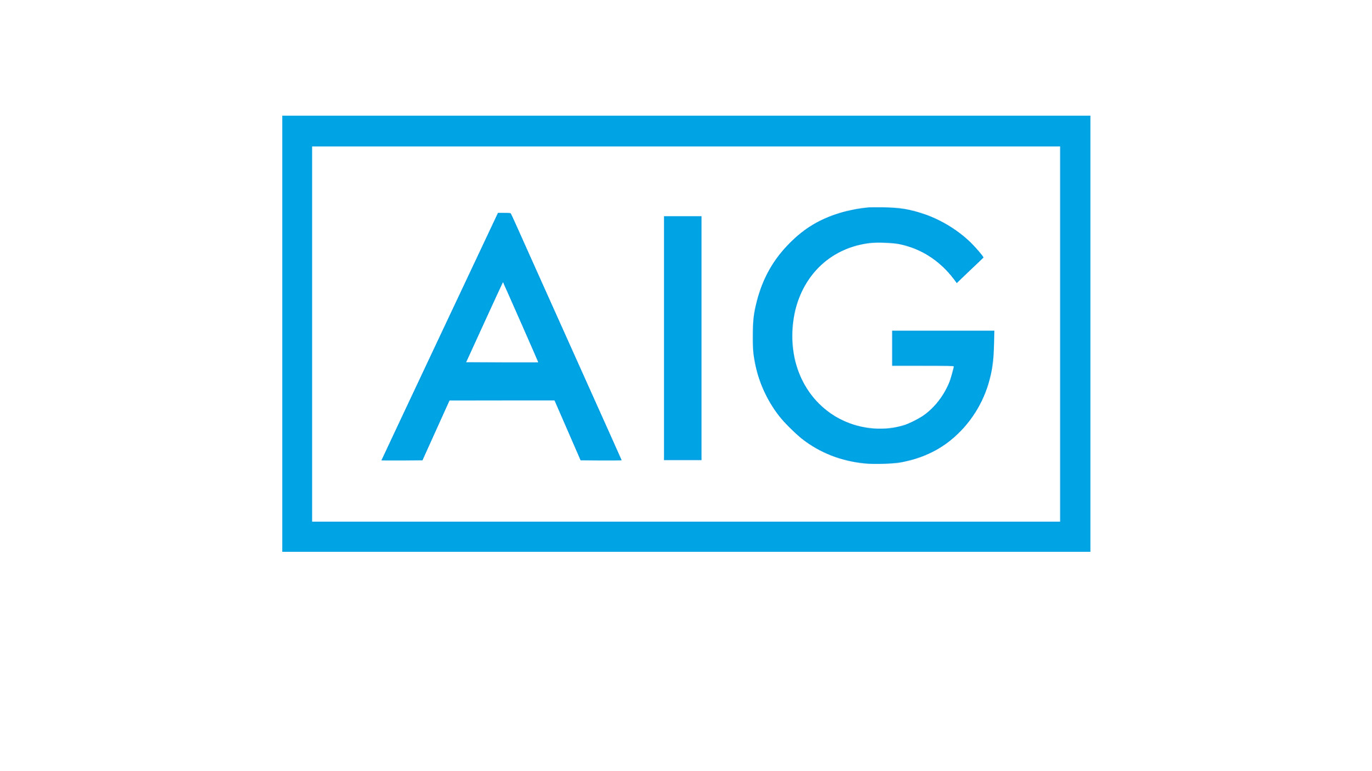 AIG Logo wallpaper 2018 in Brands Logos 1920x1080