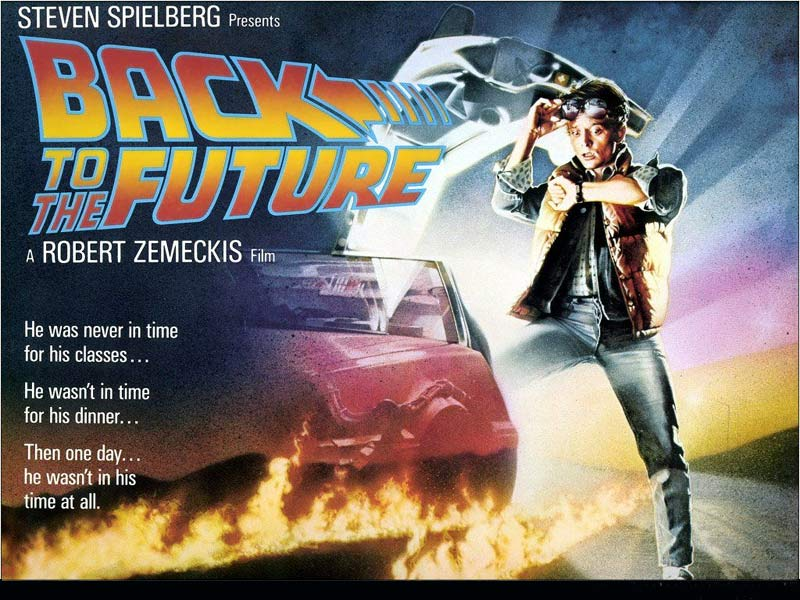 Back to the Future Movie Posters starring Michael J Fox 800x600