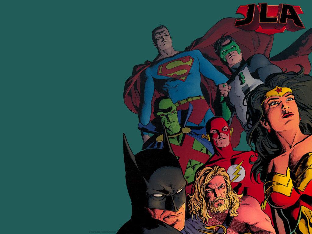 Justice League Dc Comics Superheroes Wallpapers: DC Justice League Wallpaper