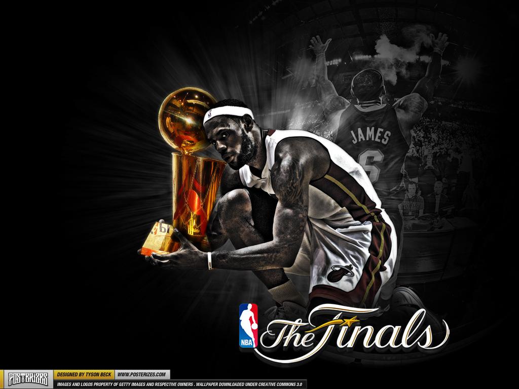 Wallpaper LeBron James   Trophy Hunting SLAMonline 1024x768