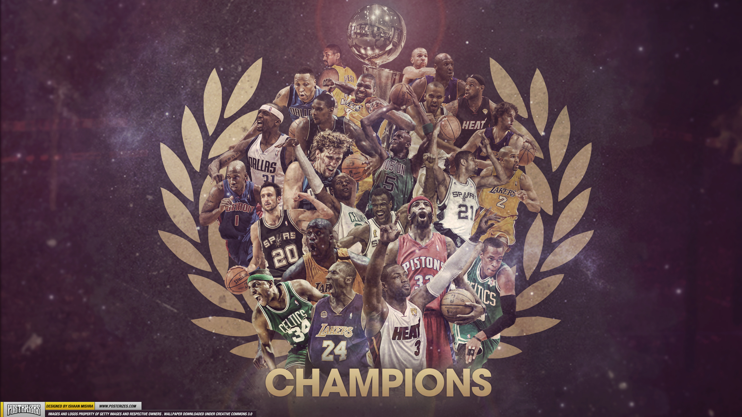 NBA Champions Wallpaper Posterizes NBA Wallpapers Basketball 2560x1440