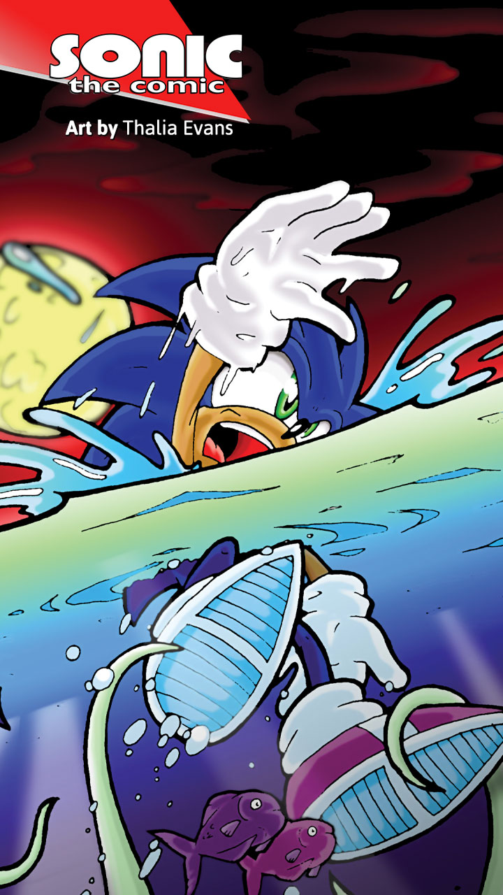 Sonic the Comic 224 Wallpapers 720x1280