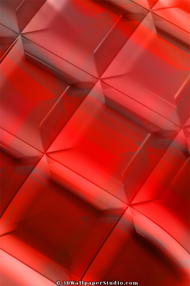 Deep red abstract wallpaper in 640x960 screen resolution 640x960