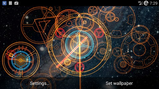 hypno clock live wallpaper is a live wallpaper portraying the animated 512x288