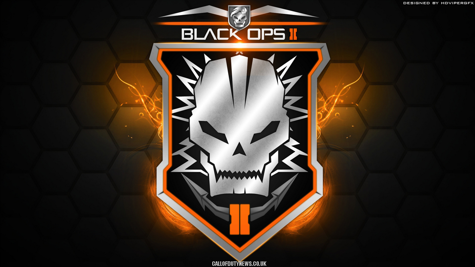 Call Of Duty Bo2 Wallpaper: Black Ops 3 Logo Wallpaper