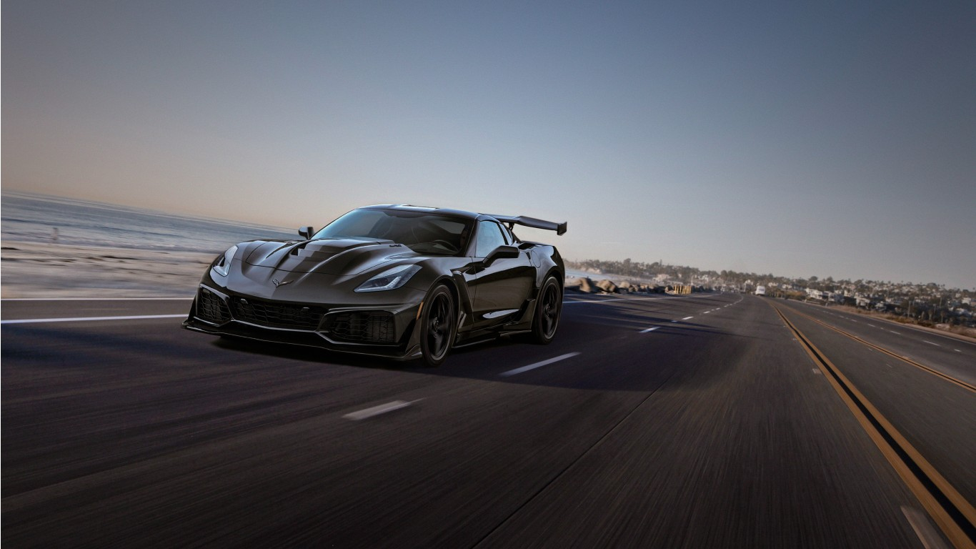 Chevrolet Corvette ZR1 2019 Wallpaper HD Car Wallpapers 1366x768