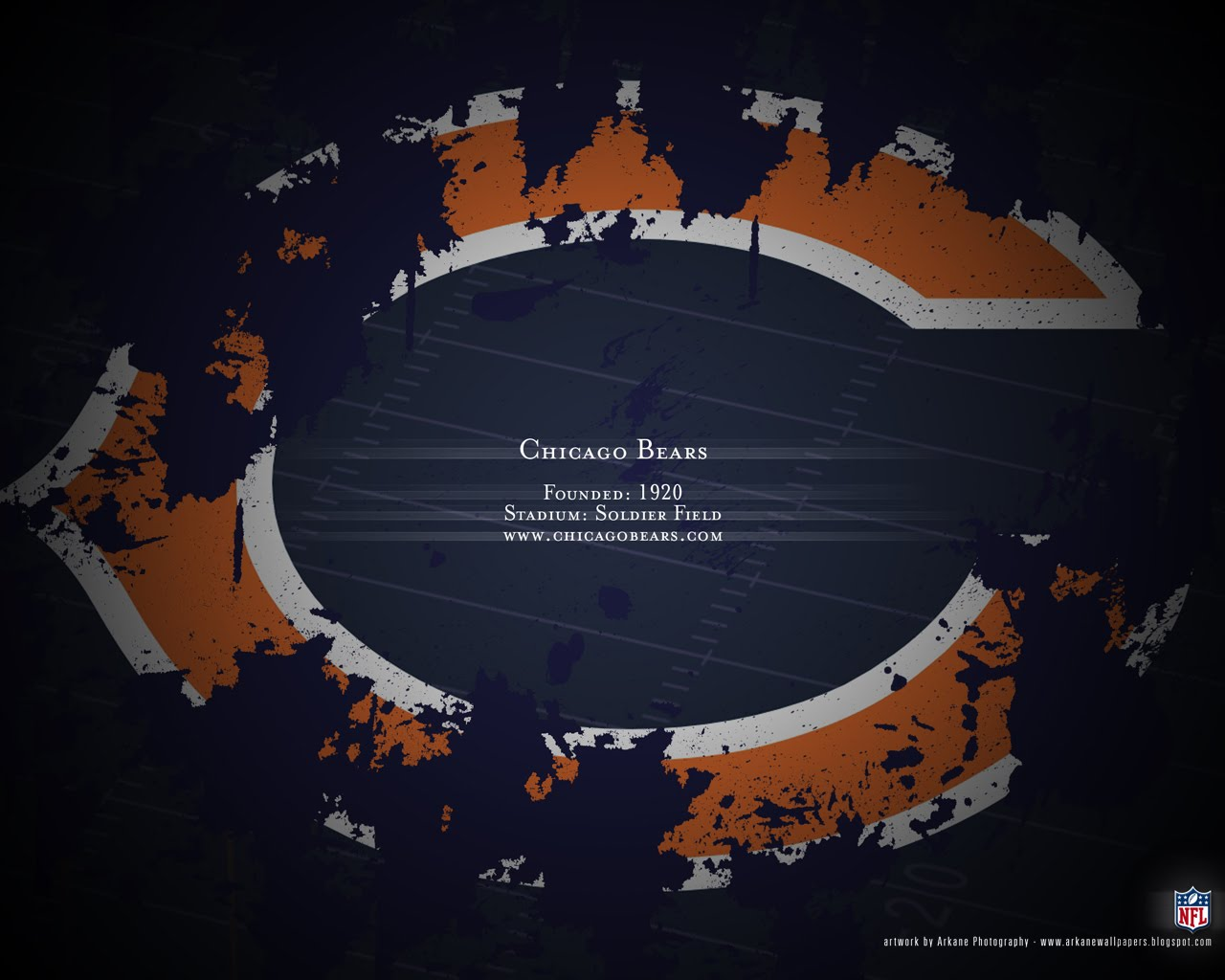 Chicago Bears wallpaper desktop wallpapers Chicago Bears wallpapers 1280x1024