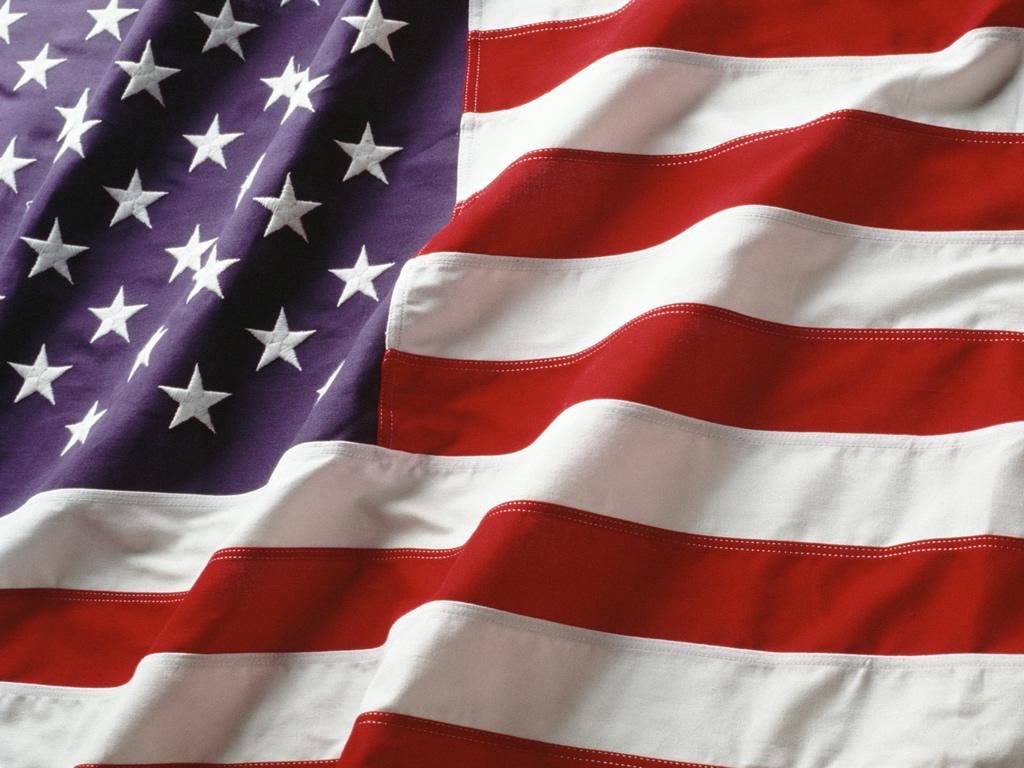 American Flag Wallpaper 1024x768