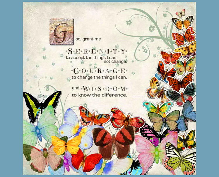 Serenity Prayer wallpaper   ForWallpapercom 748x605