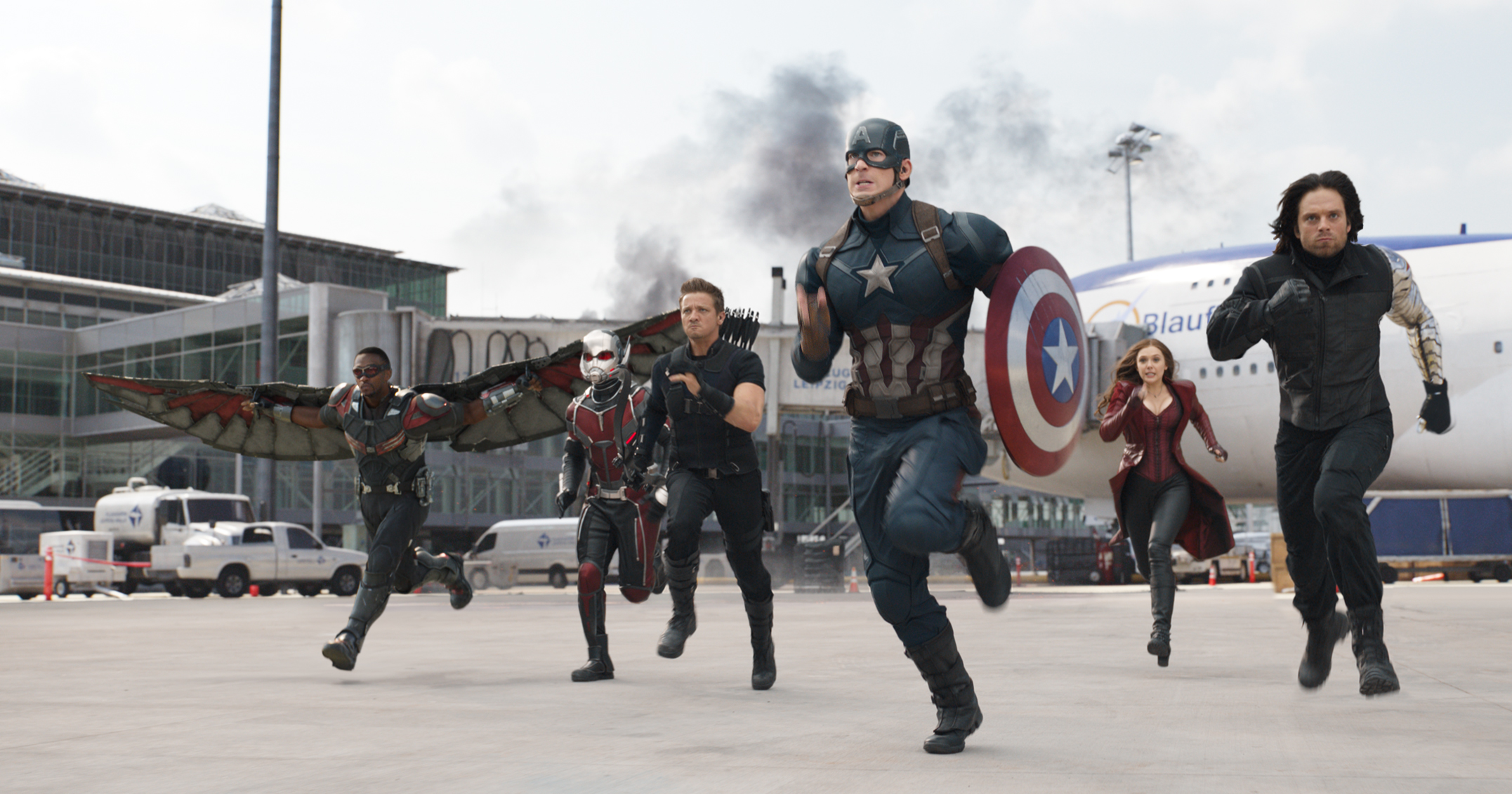 Captain America Civil War HD Wallpaper Background Image 2153x1131