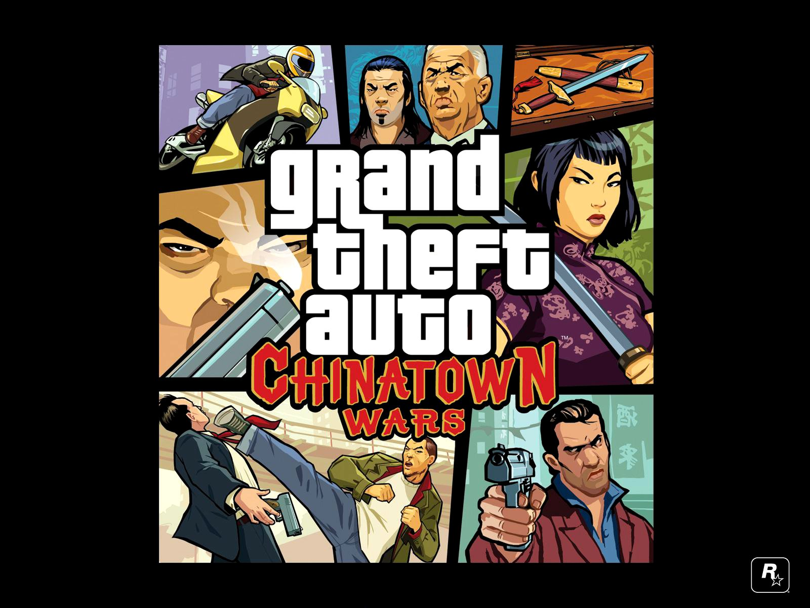 Grand Theft Auto Chinatown Wars HD Wallpapers Desktop Wallpapers 1600x1200