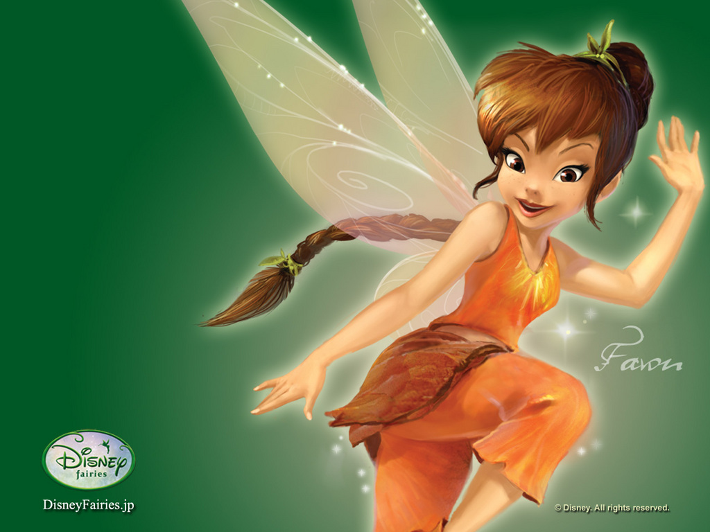 Fawn fairy wallpaper