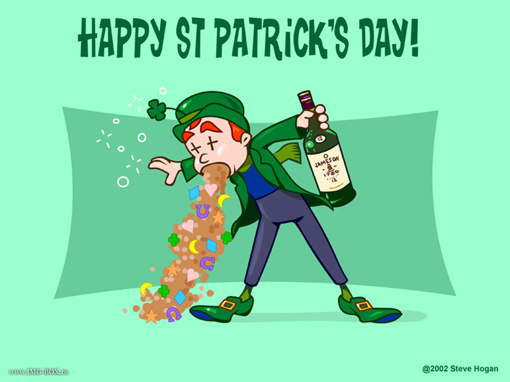 Wallpapers title Happy St Patricks day 1024x768