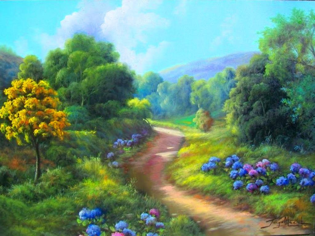 Nature Wallpaper - Daydreaming Wallpaper (34811100) - Fanpop