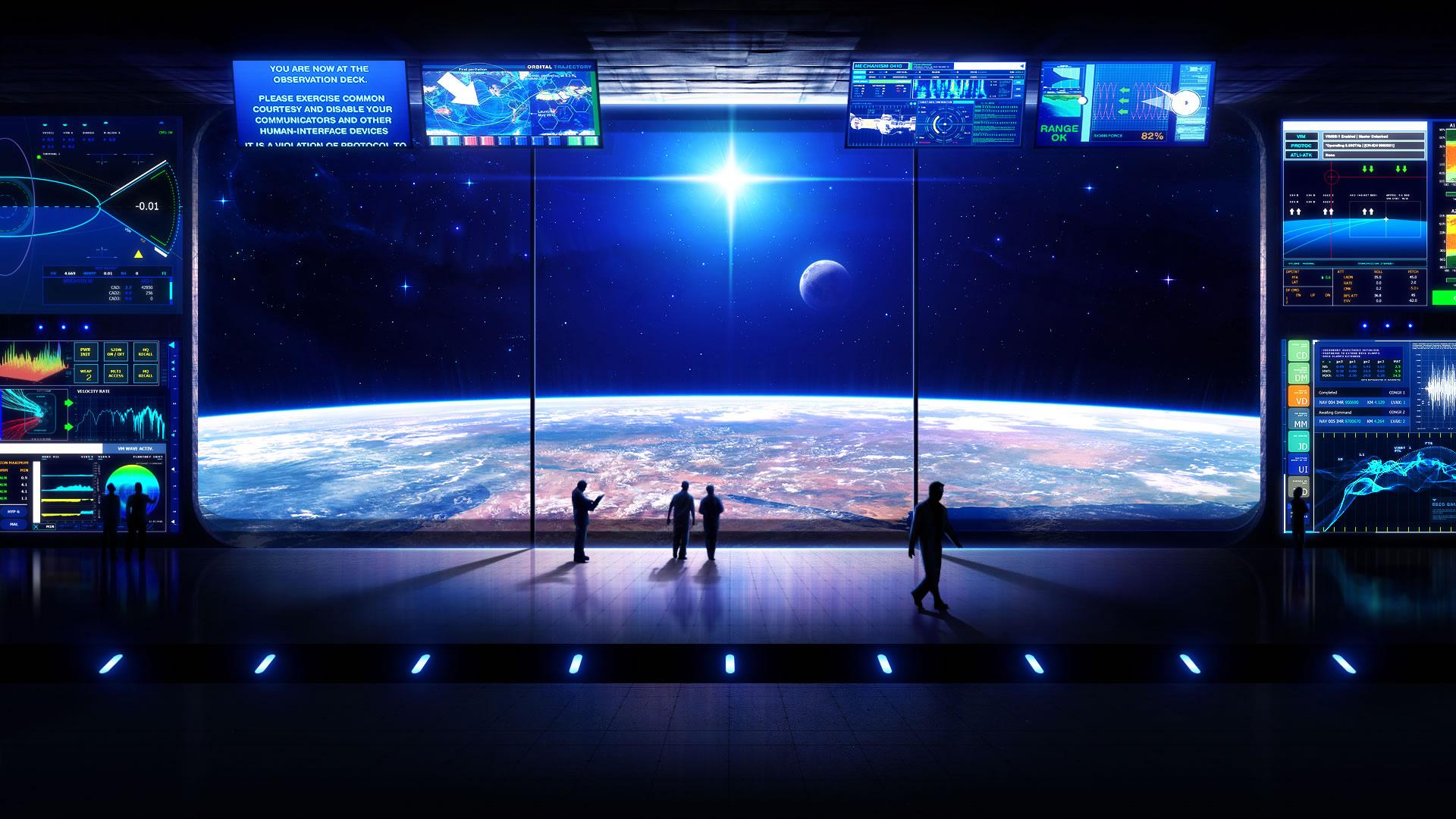 Sci fi wallpaper of the week 19   3D SpaceCoolvibe Digital Art 1920x1080