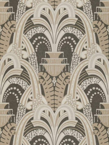 Lexington   Zoffany Tivoli Charcoal ZTIV311039   Select Wallpaper 453x600