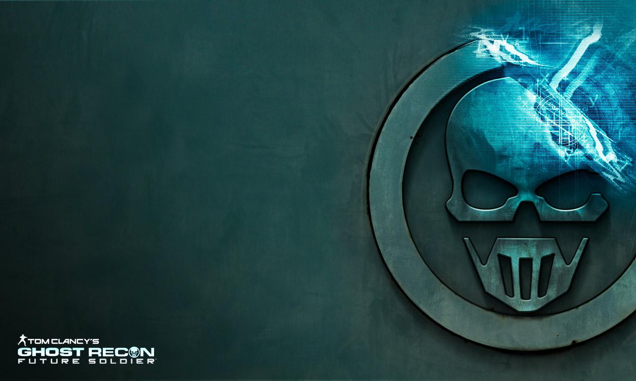 Computer desktop meet badass skull logo 1280x768