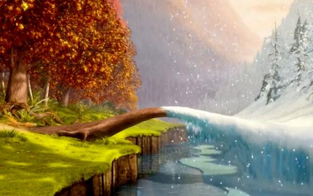 Autumn and Winter wallpaper on wwwWallpapersProjectcom 640x400