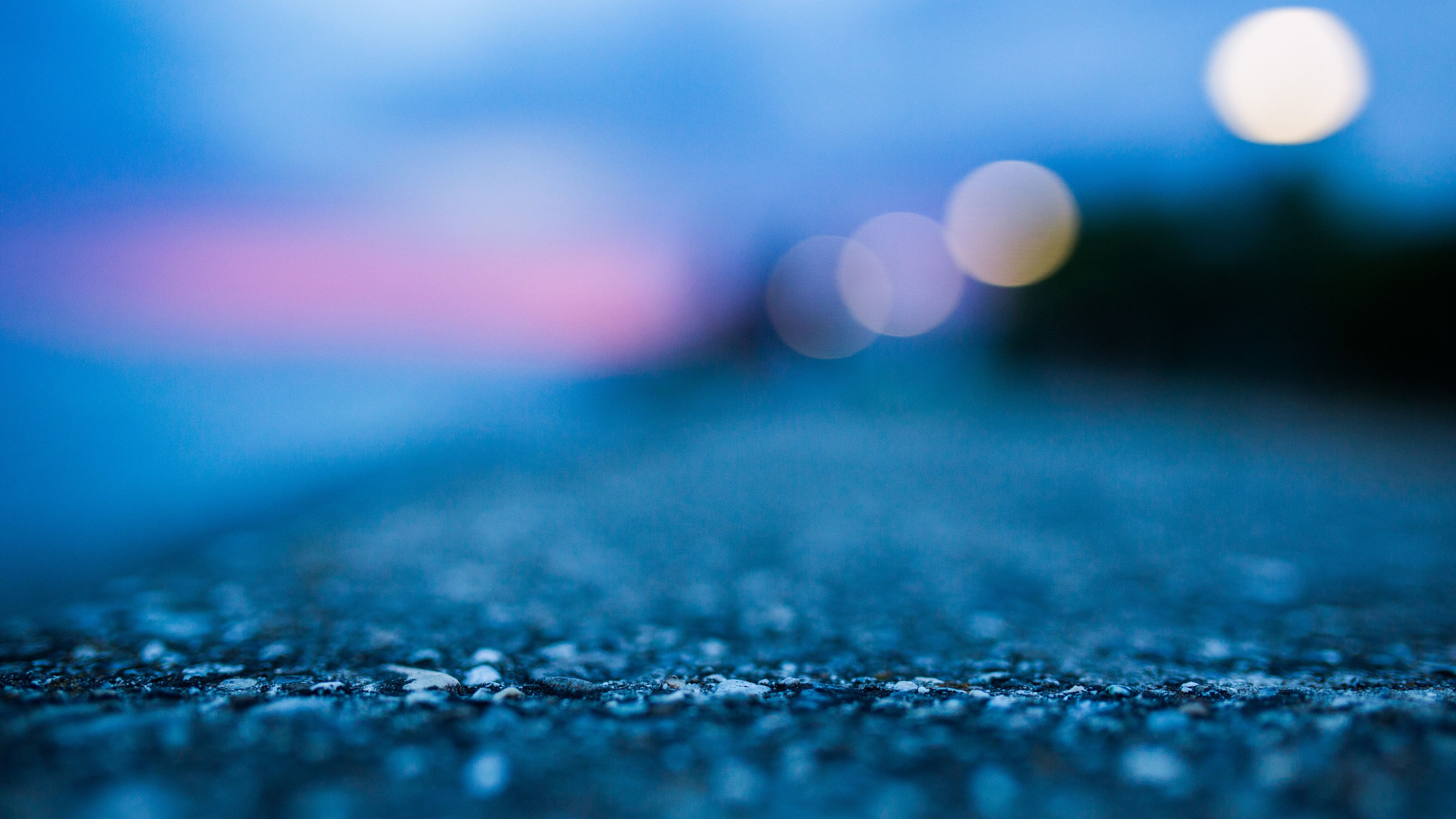 Abstract Blue Concrete Ground Macro macro wallpapers hd 3840x2160