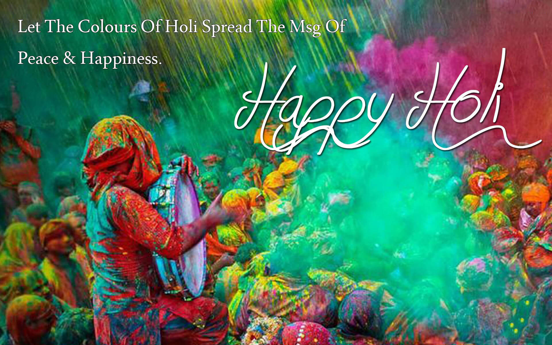 Happy Holi 2021 Images Wallpapers HD Wishes SMS Messages 1920x1200