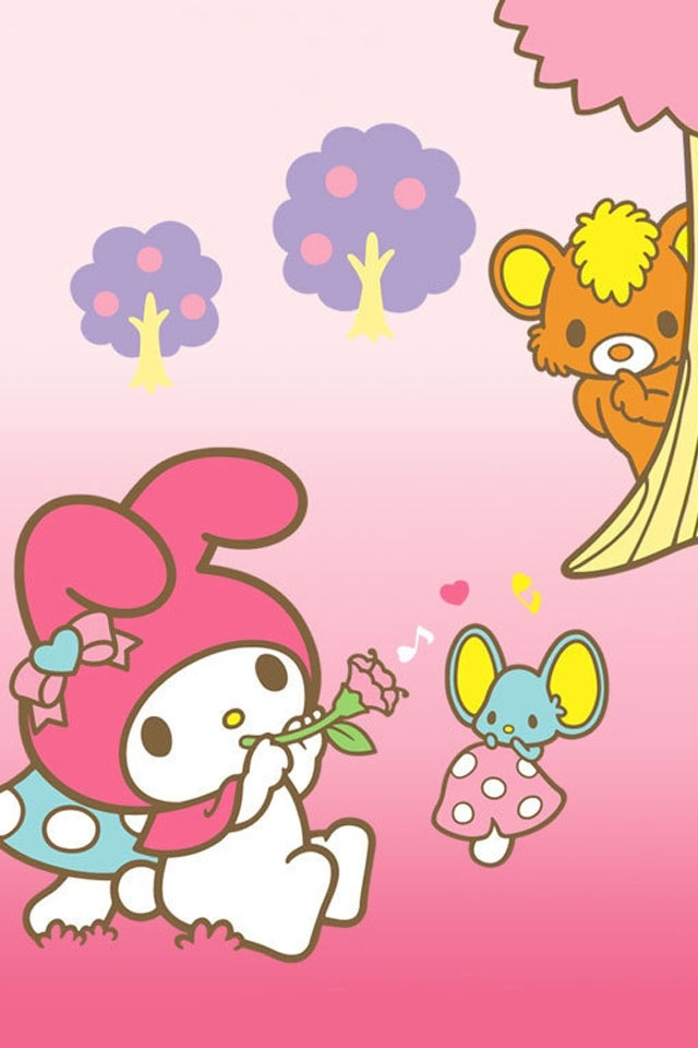 76 sanrio wallpaper iphone sanrio characters wallpaper. Black Bedroom Furniture Sets. Home Design Ideas