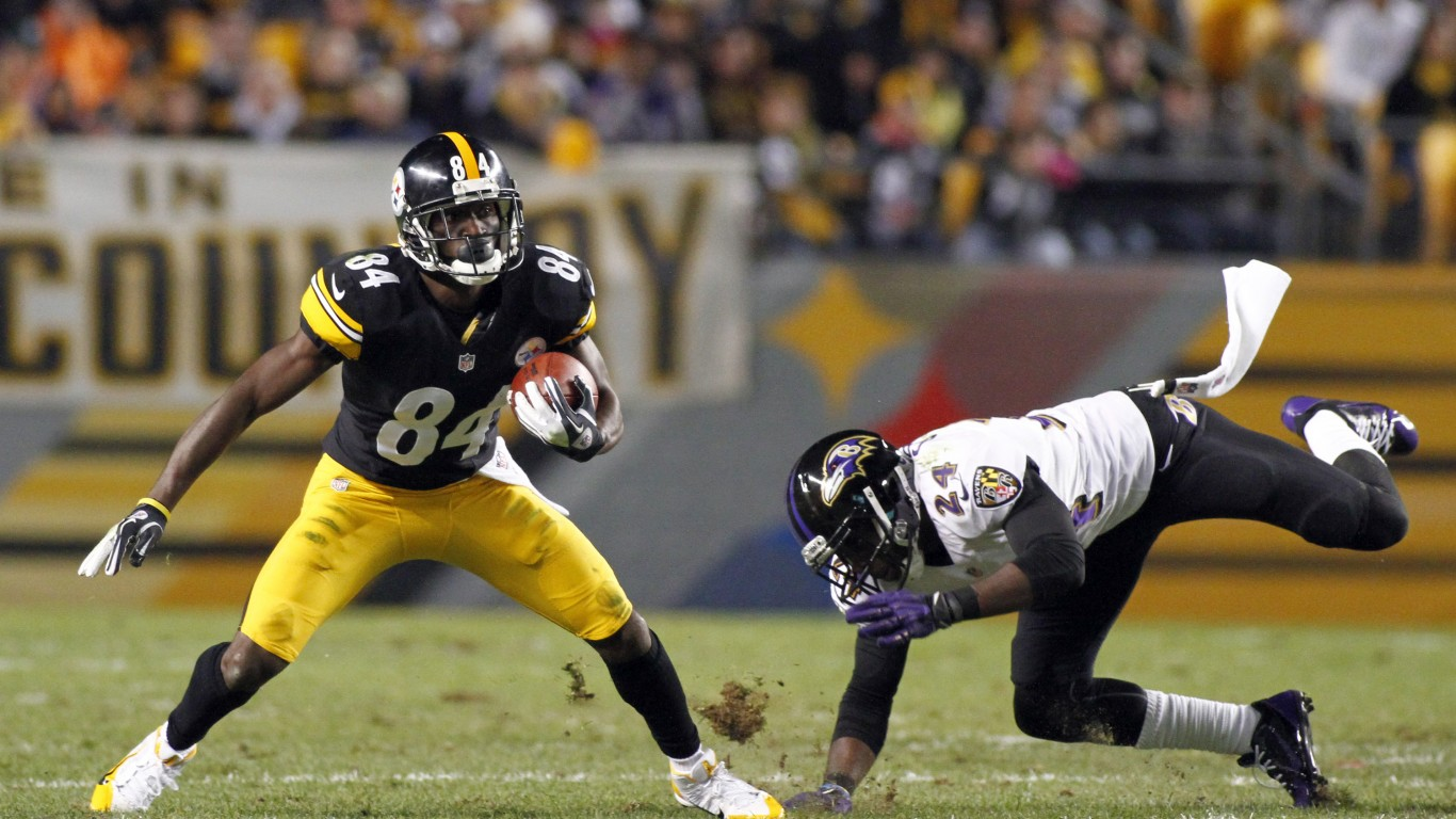 Antonio Brown Fot EuropressGetty 1366x768