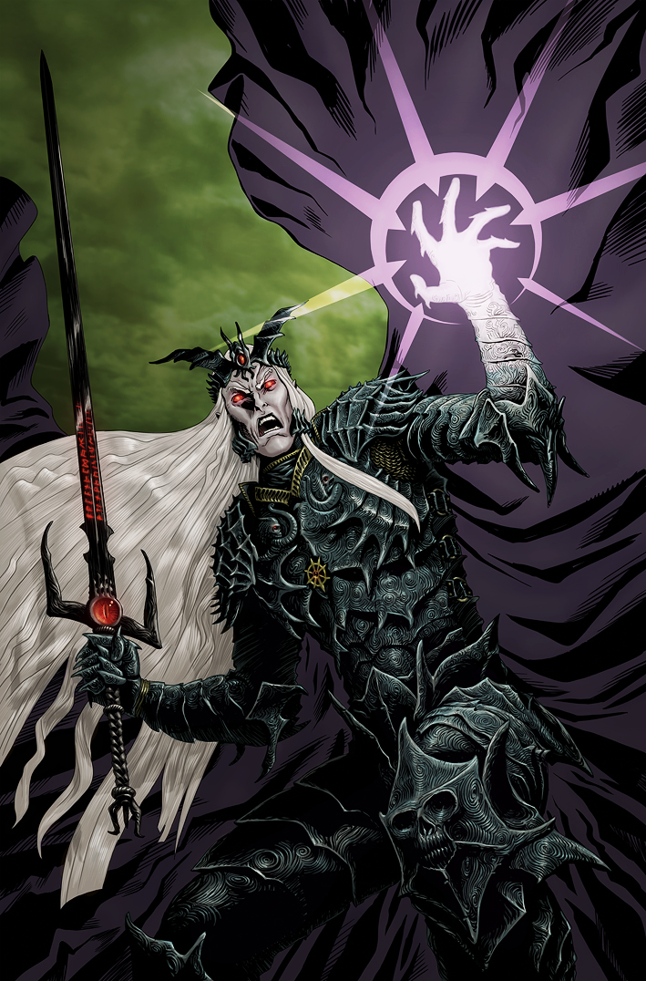 Elric of Melnibone cover recolor by cene801 709x1076