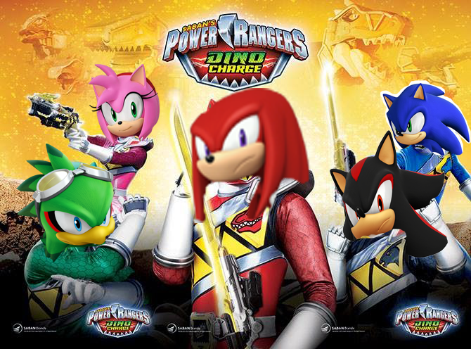 Sonic Rangers Dino Charge By Nitroguy