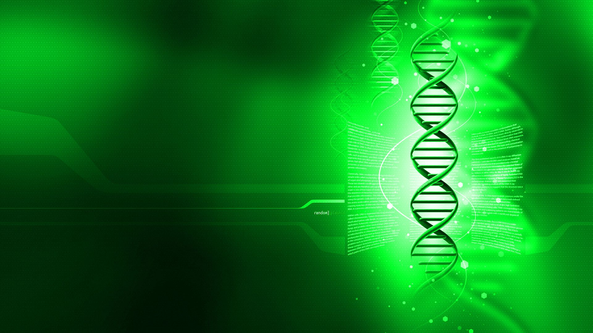Wallpapers For Biology Wallpaper Dna 1920x1080