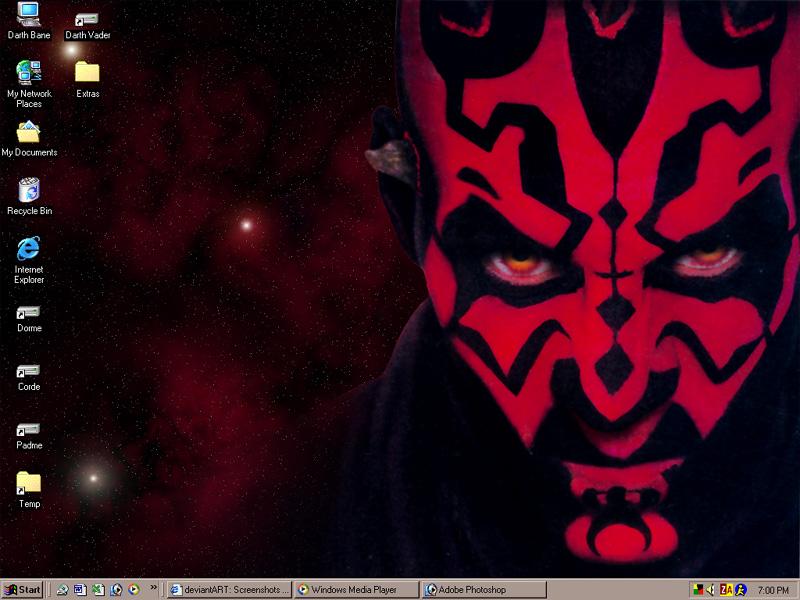 STAR WARS The Desktop Theme by Retheon 800x600