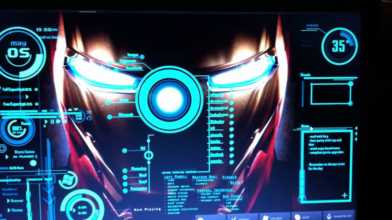 48+] Jarvis Iron Man Wallpaper on WallpaperSafari