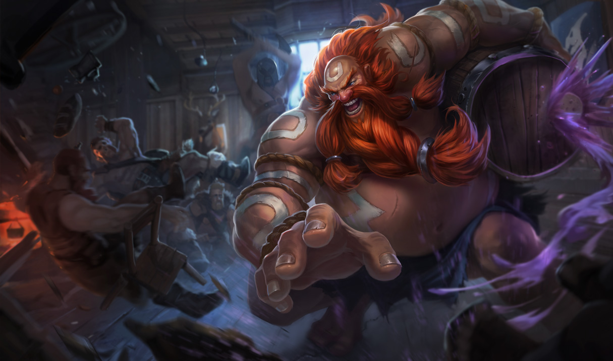 Gragas Classic Skin   League of Legends Wallpapers 1215x717