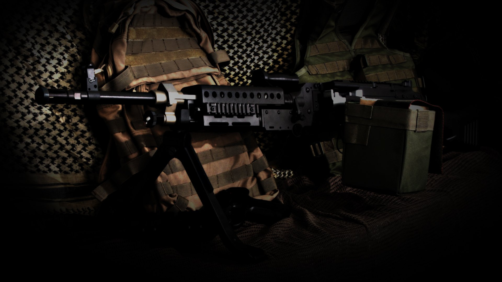 3 Airsoft HD Wallpapers Background Images 1920x1080