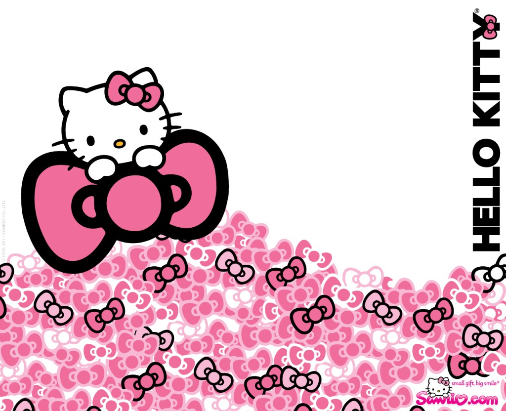 Free Pink Background Hello Kitty Wallpaper Unique