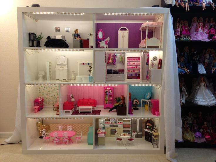 48 Barbie Dollhouse Wallpaper On Wallpapersafari