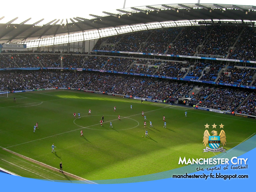 City Of Manchester Stadium Wallpapers HD Walls Find Wallpapers 1024x768