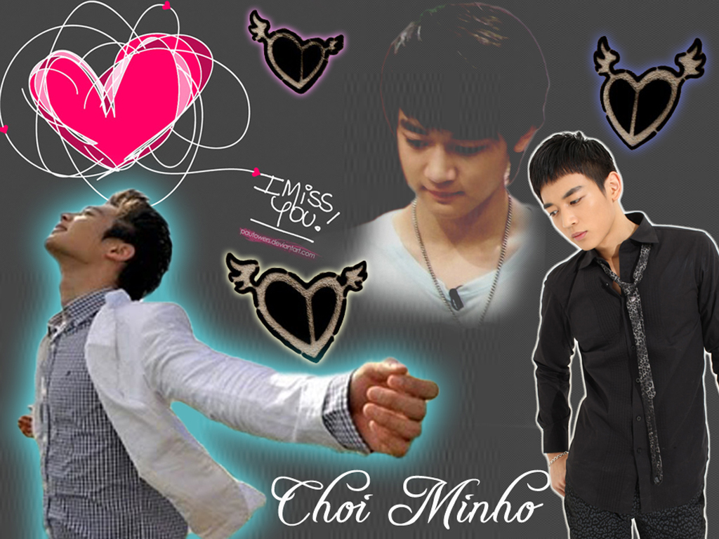 Choi Minho 2014 Wallpaper 1024x768