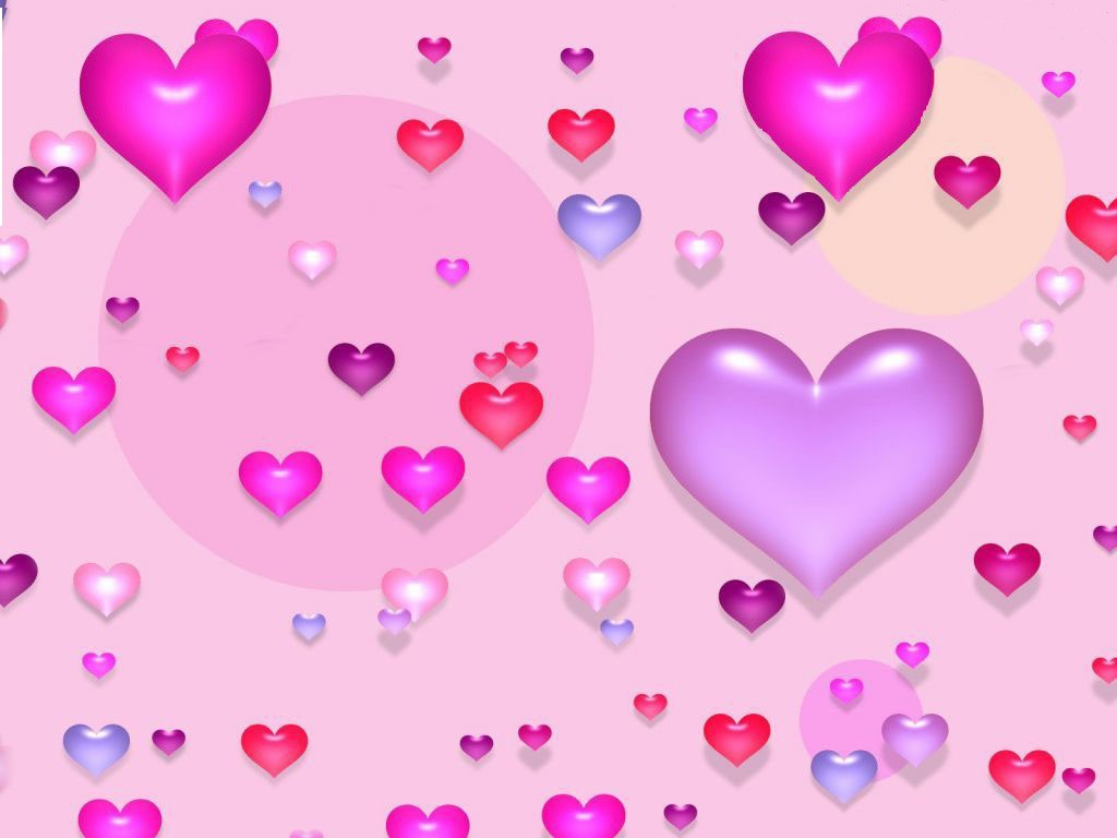 VALENTINE wallpapers   Valentines heart balloons 1024x768
