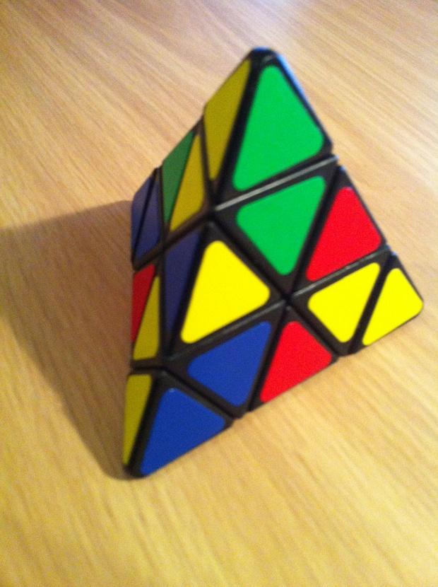 Pyramidal Rubix Cube and a Puzzle Safe   Secret Santa 2012 620x830