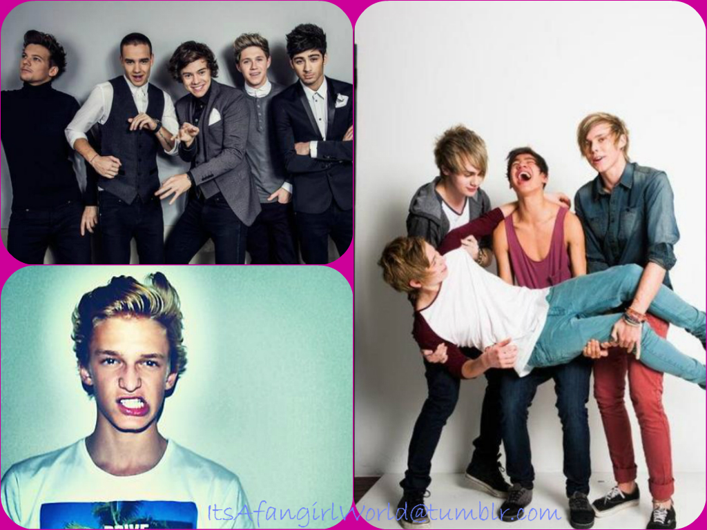 One Direction And 5sos Wallpaper Images Pictures   Becuo 1024x768