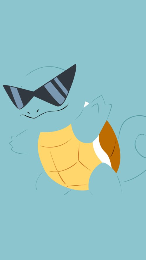 Squirtle Pokemon iPhone 5 Wallpaper 500x888 500x888