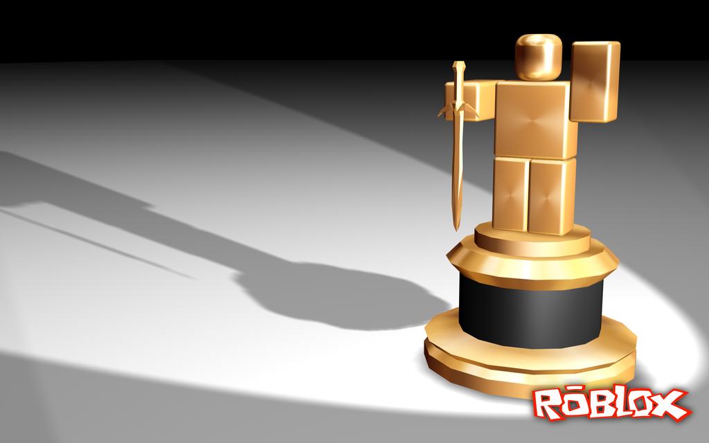 Robloxian ROBLOX Background   Golden Robloxian ROBLOX Wallpaper 1024x640