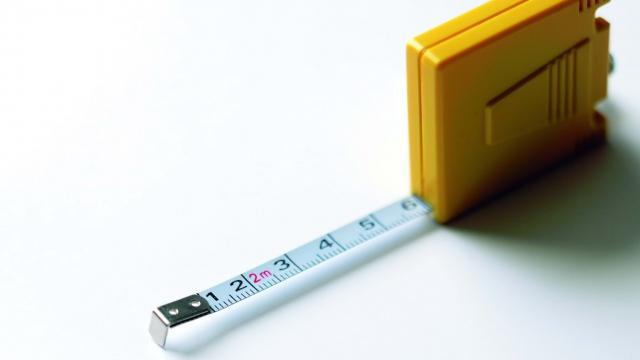 Wallpaper tape measure ruler white background HD 640x360