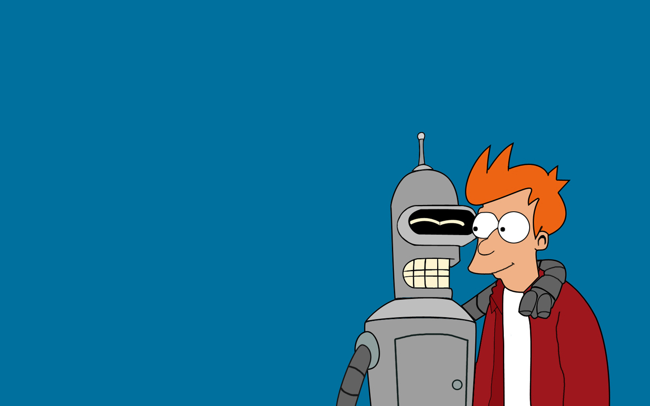Download Futurama Bender Wallpaper 1280x800 Wallpoper 1280x800
