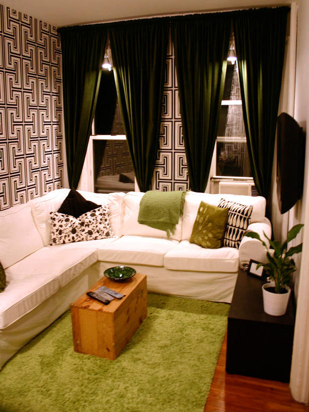 Functional Chic Studio Apartment Makeovers 616x821