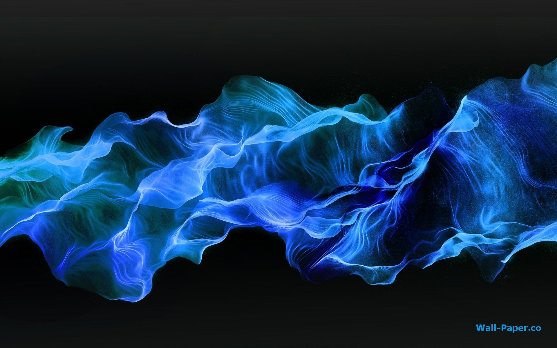 Blue Smoke Wallpaper WallDevil   Best desktop and mobile wallpapers 1920x1200
